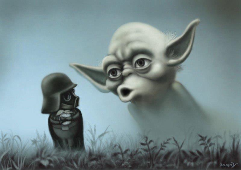 Darth Vader Ежик в тумане и Йода