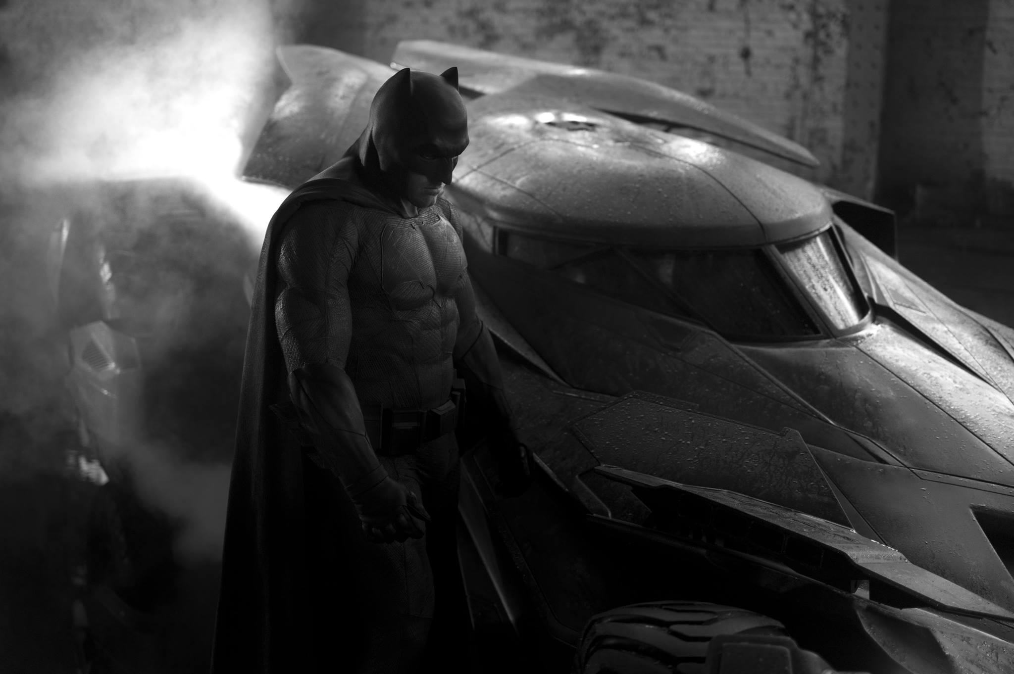 First appearance of Ben Affleck as Batman