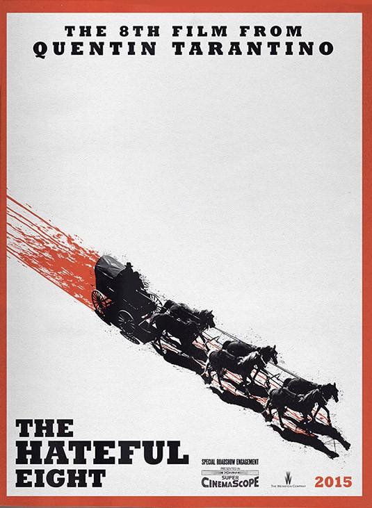 The Hateful Eight Омерзительная восьмерка Квентин Тарантино