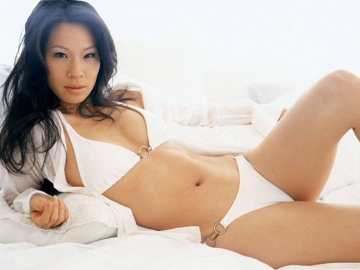 Люси Лью фото бикини Lucy Liu photo bikini
