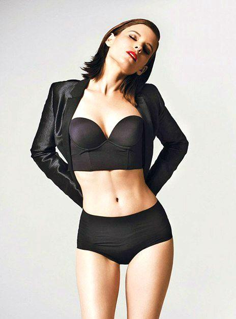 Kate Mara photo lingerie Кейт Мара фото белье черное