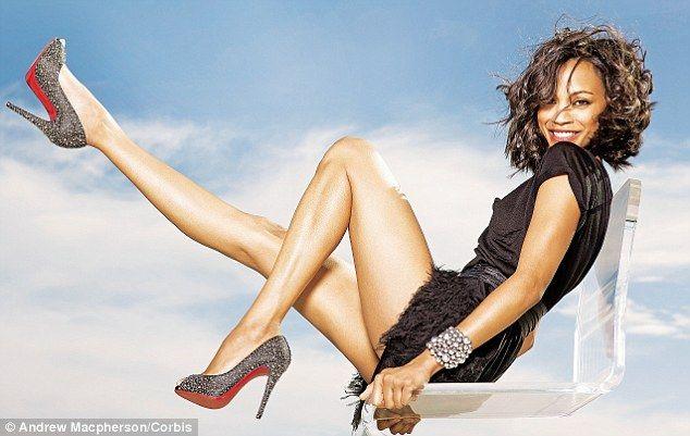 Зои Салдана фото ноги Zoe Saldana photo legs