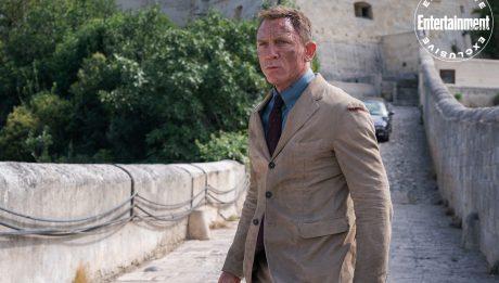 Не время умирать Джеймс Бонд новые кадры 007