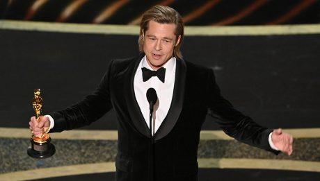 Брэд Питт Оскар 2020