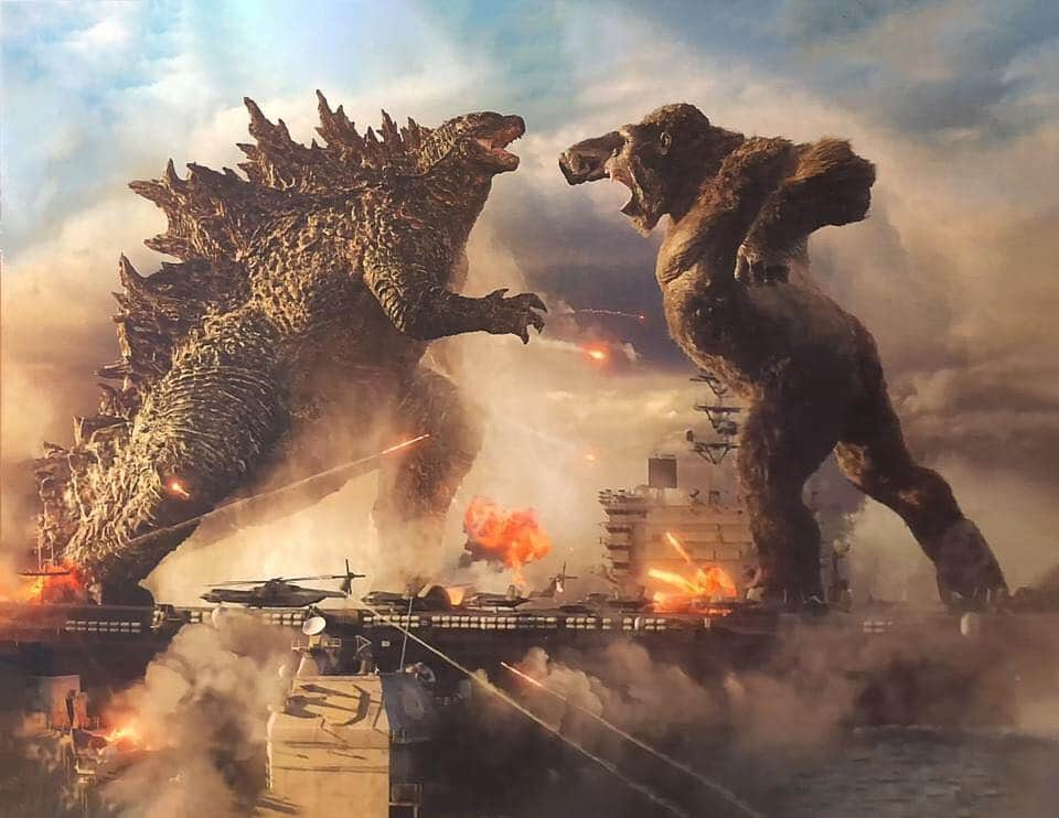 Годзилла против Конга (Godzilla vs. Kong) 2021