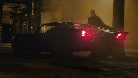 бэтмобиль новый бэтмен