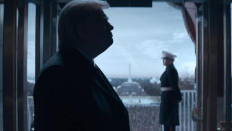 Брендан Глисон в роли Дональда Трампа на первом кадре новой комедии от Showtime