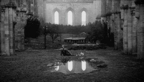Кадр из фильма «Ностальгия». Режиссер Андрей Тарковский. 1983 год