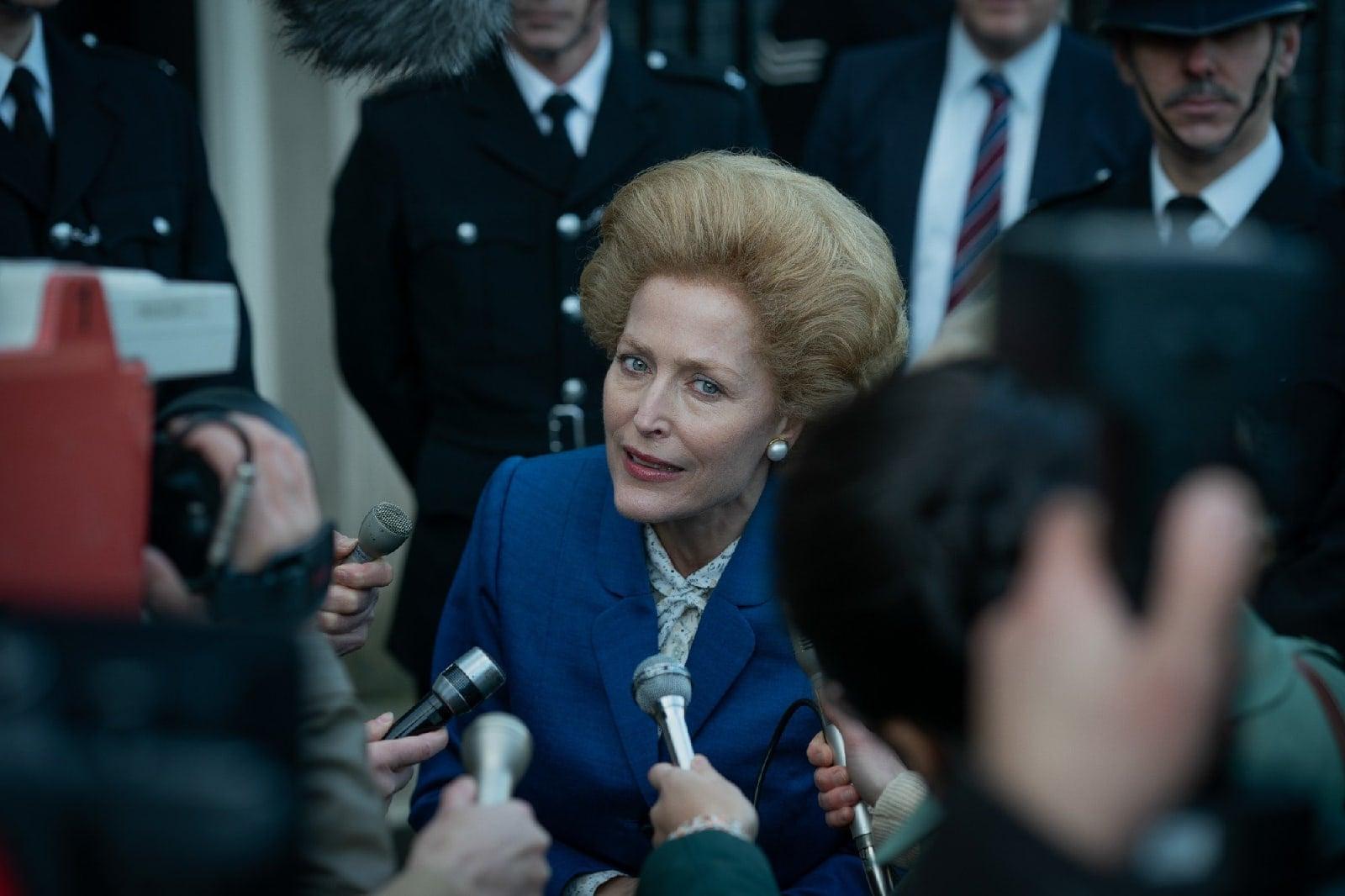 первые кадры сериала Корона четвертого сезона