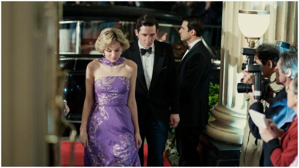 первые кадры сериала Корона четвертого сезона Эмма Коррин