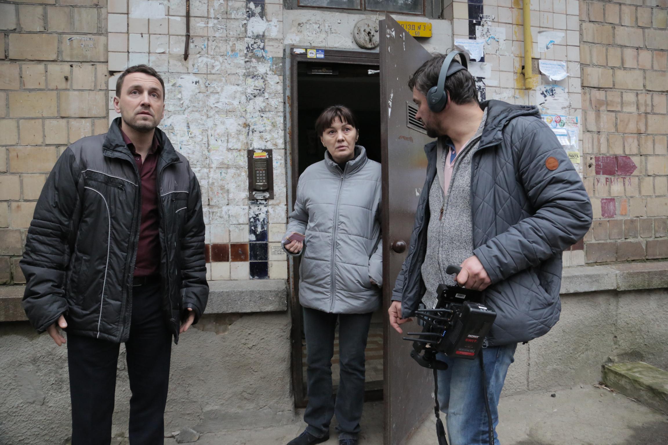 Із зав'язаними очима Тарас Дронь режисер