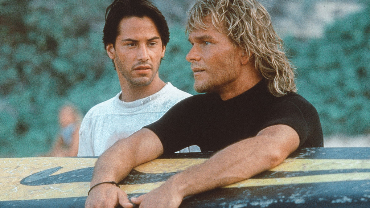 На гребне волны (Point Break, 1991, IMDb 7,3)