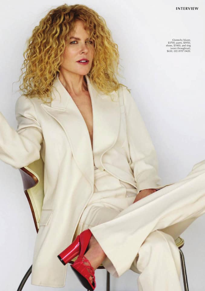 Николь Кидман для Marie Claire Австралия фото