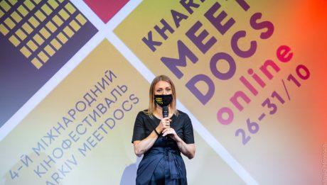 Директорка кінофестивалю Євгенія Крігсхайм
