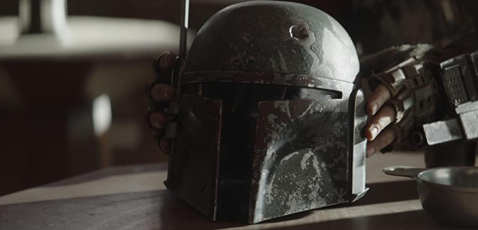 Сериал Мандалорец, 2 сезон 1 серия шлем Мандалорца