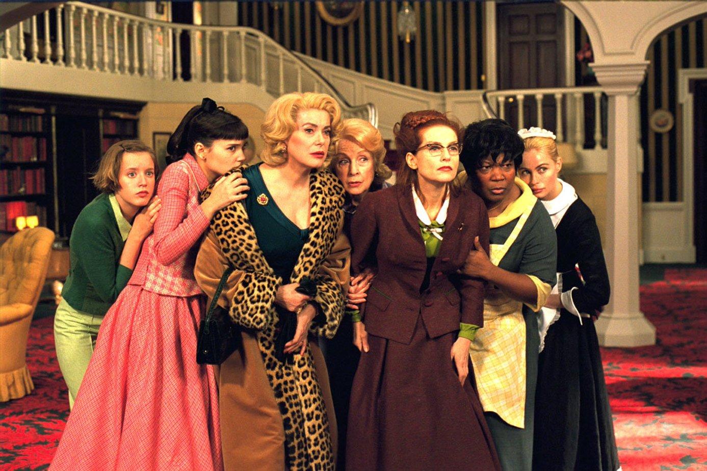 8 женщин (Huit femmes, 2002