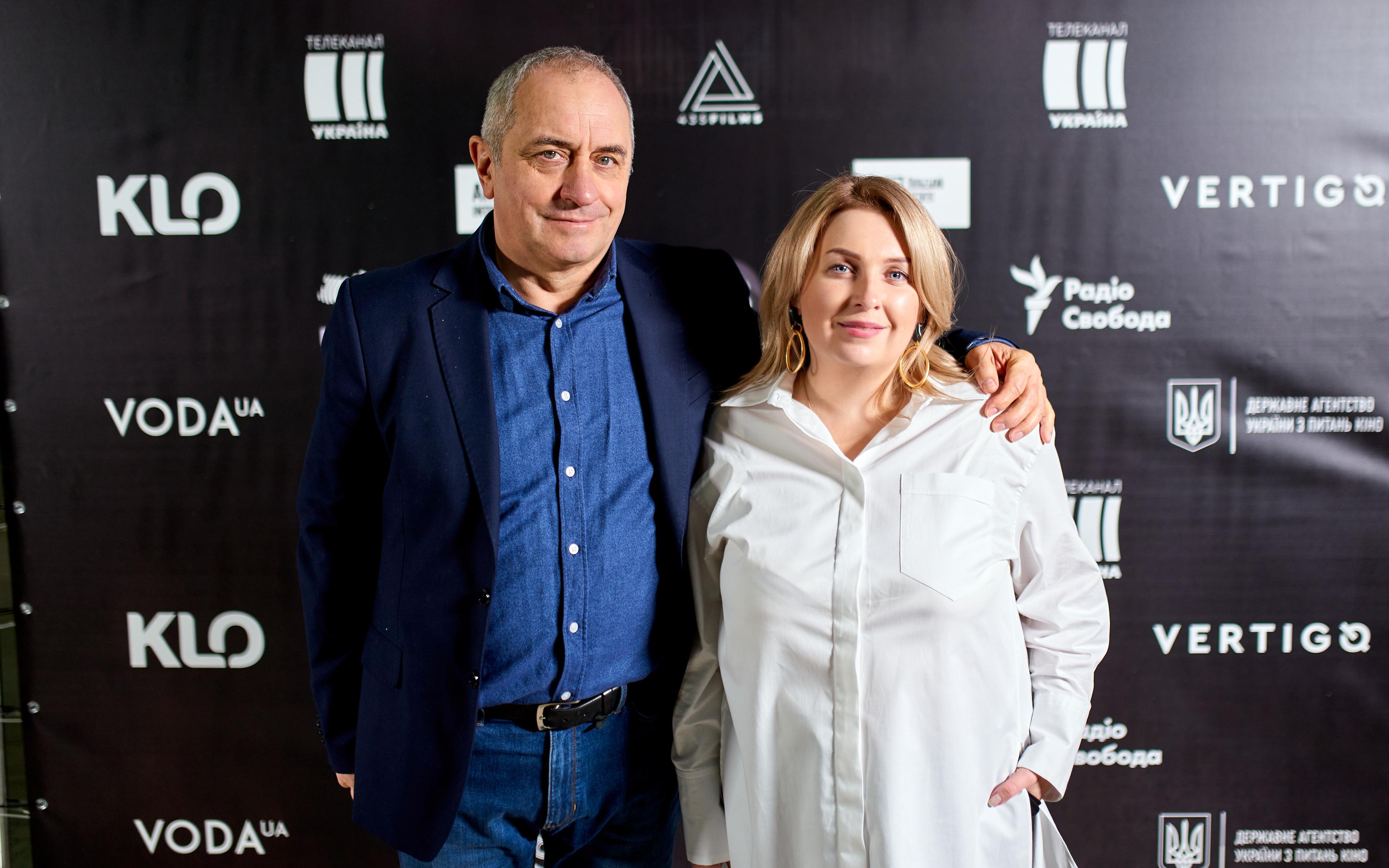 Віктор Андрієнко та Анна Паленчук