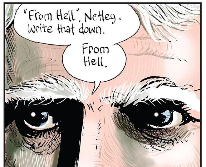 Из ада From Hell комиксы Алана Мура