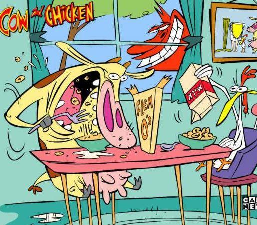 Коровка и Цыпленок (Cow and Chicken) 1997 - 2000