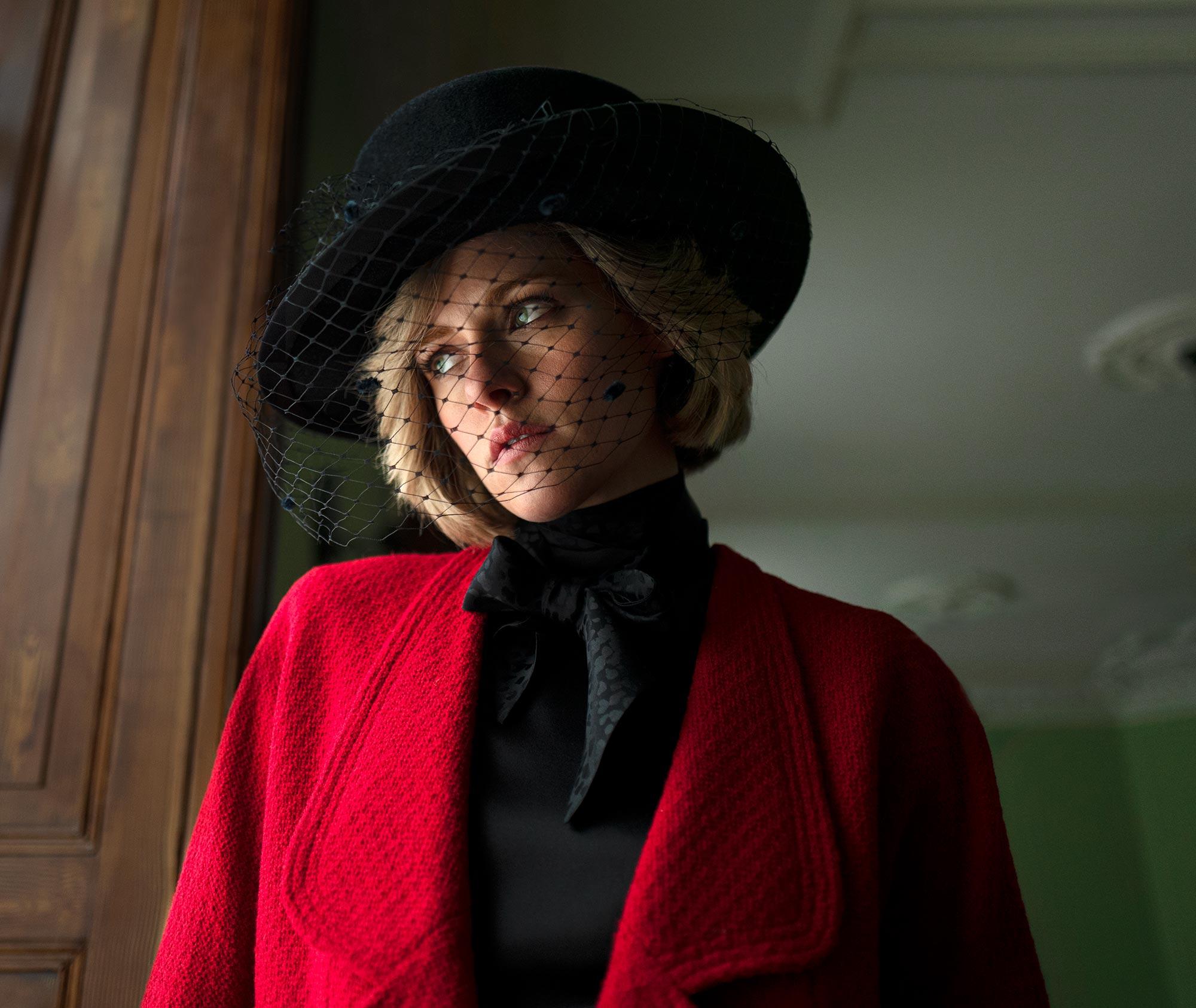 Кристен Стюарт принцесса Диана кадр Spencer