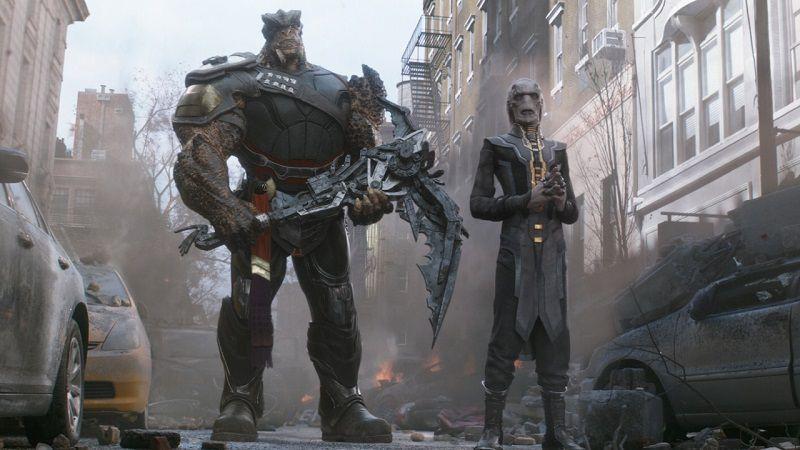 Кулл Обсидиан Терри Нотари -Мстители: Война бесконечности (2018),Мстители: Финал (2019)