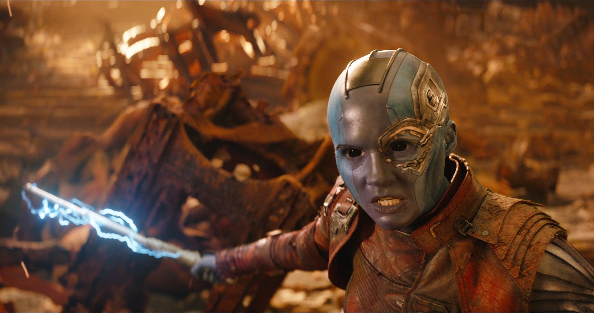 Небула Карен Гиллан - Стражи Галактики (2014), Стражи Галактики 2 (2017), Мстители: Война бесконечности (2018), Мстители: Финал (2019)