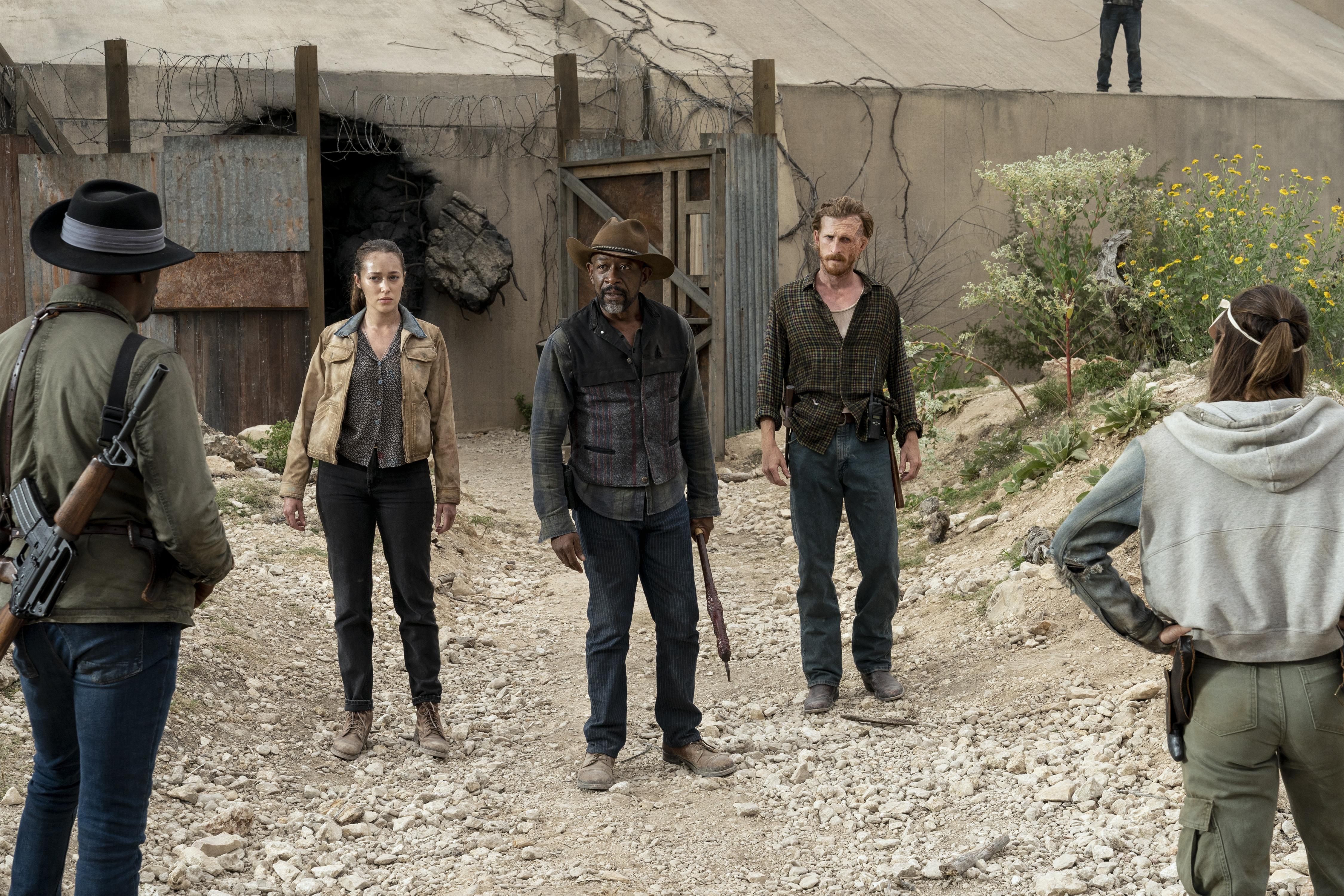 Бійся, як мертві підуть серіал AMC