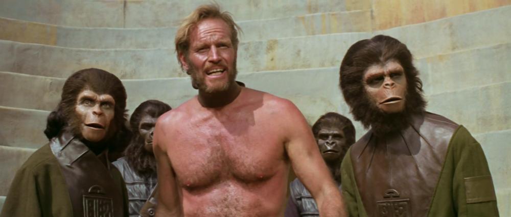 Планета обезьян (Planet of the Apes)1968