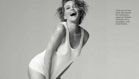 Шэрон Стоун фотосессия для Elle Испания апрель 2021