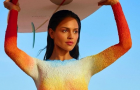 Эйса Гонсалес снялась в эротичной фотосессии на пляже для журнала Shape