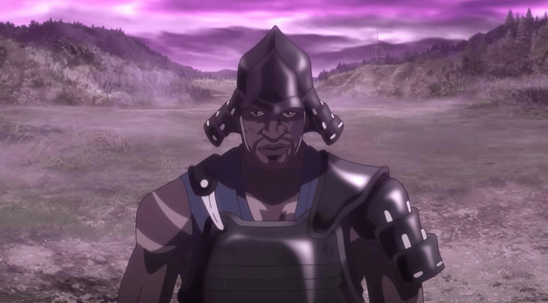 Ясукэ (Yasuke) аниме сериал черный самурай