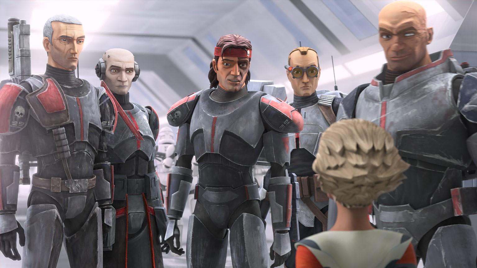 Звёздные войны Бракованная партия(Star Wars The Bad Batch)