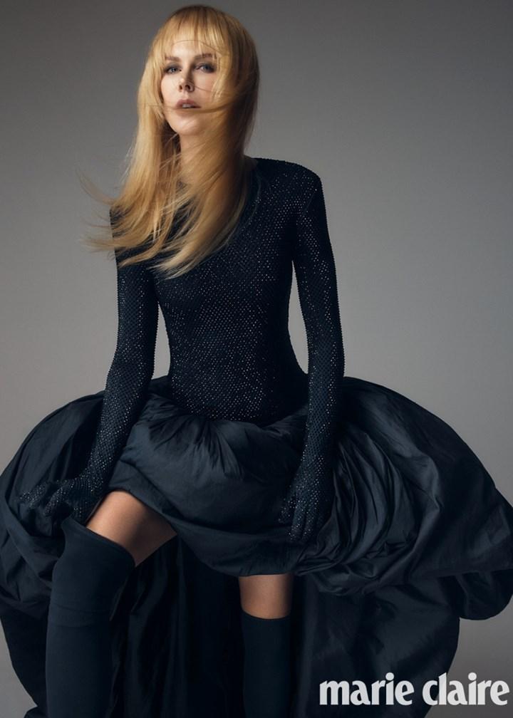 Николь Кидман снялась в новой фотосессии для австралийского Marie Claire