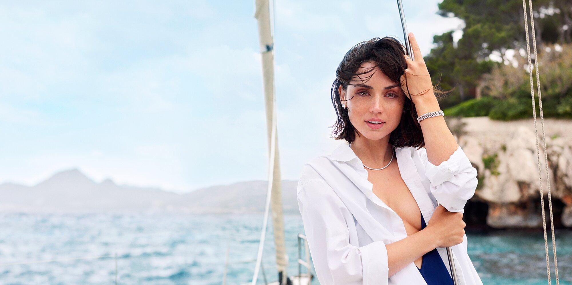 Роскошная Ана де Армас снялась в рекламной кампании бренда Natural Diamond Council
