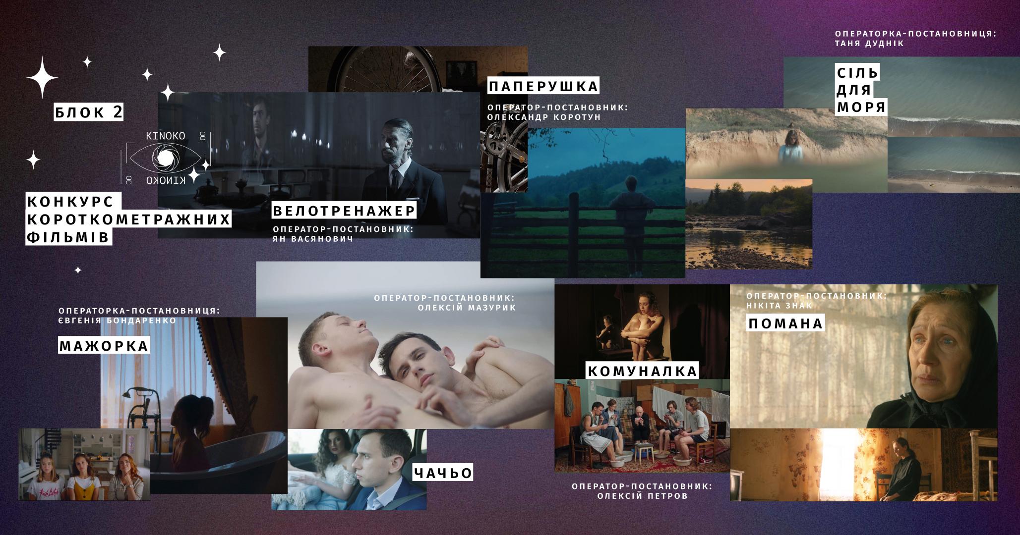 конкурс короткометражних фільмів