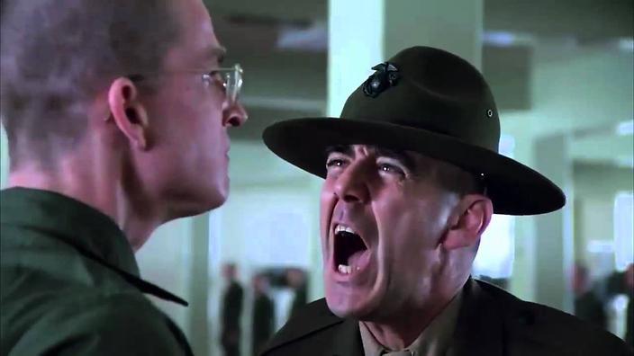 Ли Эрми — комендор-сержант Хартман, Цельнометаллическая оболочка (Full Metal Jacket) 1981