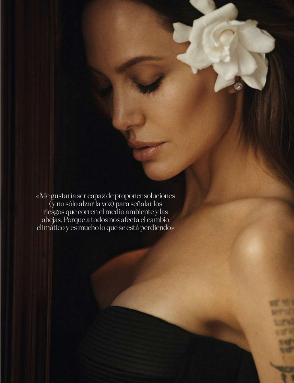 Анджелина Джоли в роскошной фотосессии для Elle Испания