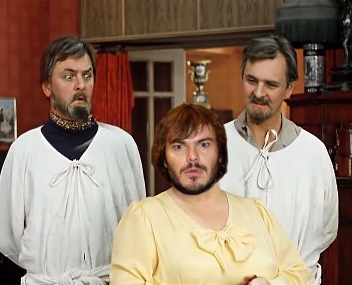 Голливудские актеры в советском кино Джек Блэк Иван Васильевич меняет профессию