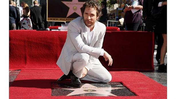 Мэттью Макконахи получил звезду на голливудской Аллее славы