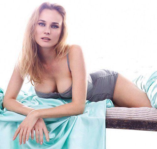 Диана Крюгер фото Diane Kruger photo breast