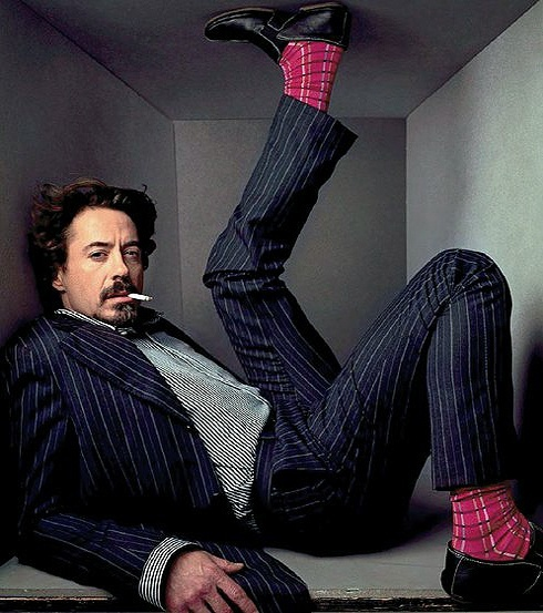 Роберт Дауни-младший фото костюм Robert Downey Jr. photo suit and tie