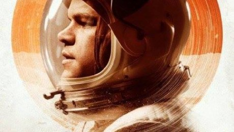 """Финальный постер фильма """"Марсианин"""""""