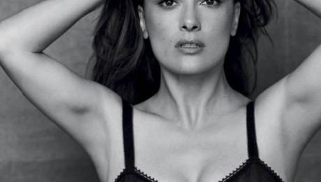 Сальма Хайек в фотосессии для журнала GQ