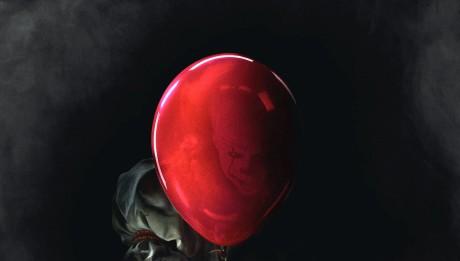Клоун Пеннивайз постер Оно 2017
