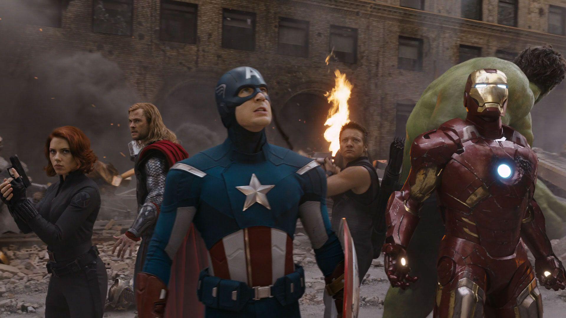 Мстители (The Avengers) 2012