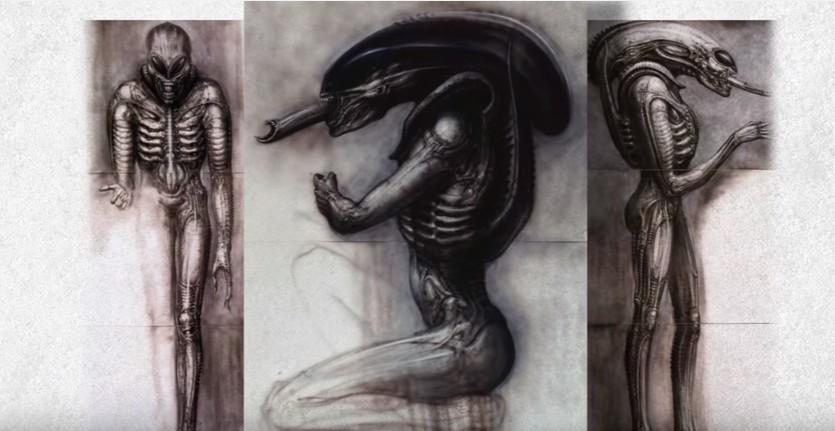 Как создавали Чужого Ханс Руди Гигер и его рисунки