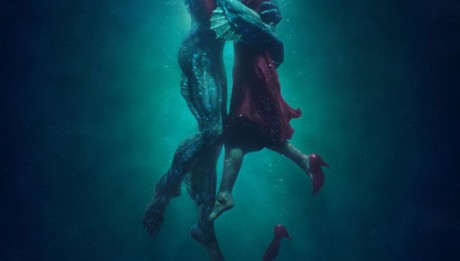 The Shape of Water новый фильм Гильермо дель Торо постер