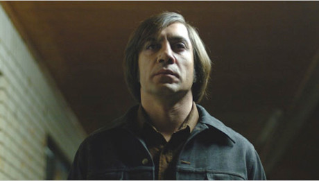 Оскар за роль злодея Хавьер Бардем Старикам здесь не место (No country for old men) 2007