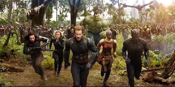 Трейлеры: Мстители: Война бесконечности (Avengers: Infinity War)