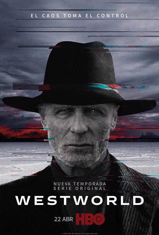 Мир Дикого Запада Второй сезон постеры
